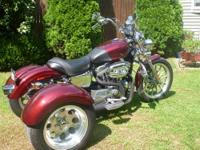 2008 883 xl low with Frankenstien rear end and new