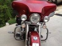2008 Harley Ultra Classic 105th Anniversary Model.