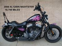 This is a 2008 Harley Davidson Sportster XL1200N