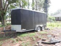 This is a very roomy trailer with plenty of room to