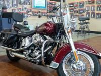 This is a very nice 2008 Harley Davidson Heritage