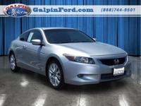 2008 Honda Accord 2dr Car EX-L Our Location is: Galpin