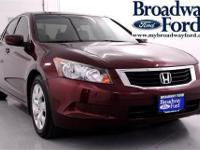 Come see this 2008 Honda Accord Sdn EX-L. It has an