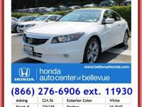 2008 HONDA Accord Coupe COUPE 2-Door V6 Automatic EX-L