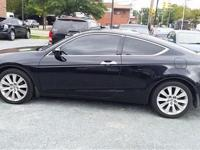 2008 Honda Accord EXL V6 coupe. Clean vehicle with no