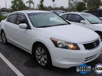 ONE-OWNER, CLEAN CARFAX, and SUNROOF. Accord EX 2.4 and