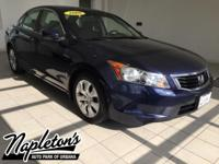 Recent Arrival! 2008 Honda Accord in Blue, AUX