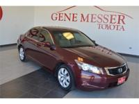 We are excited to offer this 2008 Honda Accord Sdn.