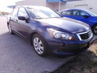 Check out this 2008 Honda Accord Sdn EX-L. Its