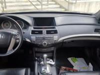 3.5L V6 SOHC i-VTEC 24V and Leather. Gasoline! Leather!