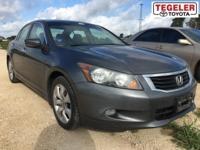 Gray 2008 Honda Accord EX-L FWD 5-Speed Automatic with
