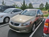 CARFAX One-Owner. Clean CARFAX. 2008 Honda Accord EX-L