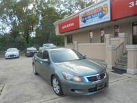 Options:  2008 Honda Accord Ex-L Sedan 4D|Miles: