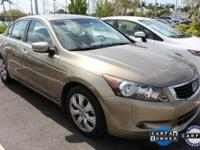 Accord EX-L and 3.5L V6 SOHC i-VTEC 24V. Fuel economy