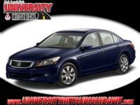 **HAGGLE FREE PRICING** Blue 2008 Honda Accord EX