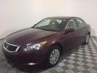 Just Reduced! This 2008 Honda Accord in Basque Red