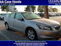 Options:  2008 Honda Accord Sdn Lx-P|/|V4 2.4L