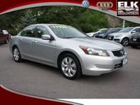 2008 Honda Accord Sdn 4dr Car EX Our Location is: Elk