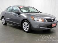 Accord EX-L 3.5, Alloy wheels, Leather-Trimmed Seat