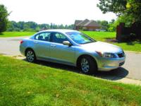 2008 Honda Accord EX-L sedan in Silver Metallic with