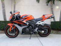 This is a beautiful 2008 Honda CBR 600RR. This bike is