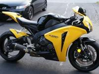 You are looking at a 2008 Honda CBR 1000RR. The bike is