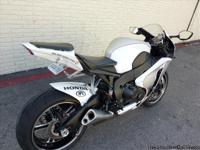 YOU ARE LOOKING AT A NEARLY NEW 2008 HONDA CBR 100RR