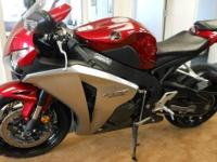 This 2008 Honda CBR1000RR is an incredible machine!