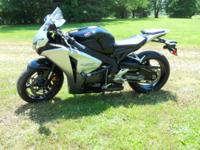 2008 Honda CBR1000RR, -Very Low Miles with brand new