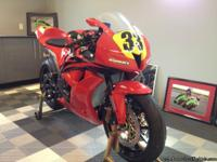 2008 CBR 600RR Track bike Showroom Condition ZERO Miles