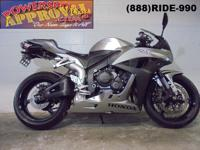 2008 Honda CBR600RR Crotch Rocket for sale only $5,700!