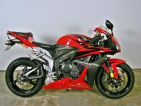 2008 Honda CBR600RR 600cc inline 4 cylinder with