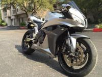 This is an Awesome 2008 Honda CBR600RR. Garage kept.