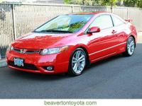 New Arrival! Fuel-efficient 2008 Honda Civic SI with