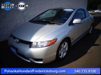 2008 Honda Civic EX ***** Cloth, 4-Wheel Disc Brakes,