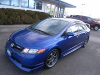 2008 Honda Civic 4dr Sedan Si Our Location is: Camp