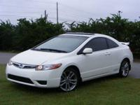 This outstanding example of a 2008 Honda Civic Cpe Si