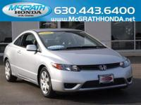 This 2008 Honda Civic LX Coupe was owned by one of our
