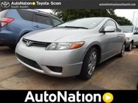 2008 Honda Civic Cpe Our Location is: AutoNation Toyota