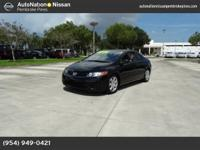 The CARFAX report reveals this Honda Civic Cpe is a