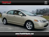 Civic EX and Borrego Beige Metallic. Talk about a deal!