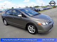 This 2008 Civic sedan has a clean CARFAX and has been
