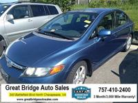 2008 Honda Civic CARS HAVE A 150 POINT INSP, OIL