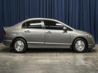 Clean Carfax Two Owner Hybrid Sedan with Power