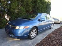 We are excited to offer this 2008 Honda Civic Sdn. This