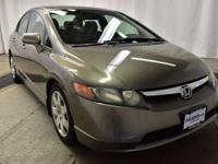 This outstanding example of a 2008 Honda Civic Sdn LX