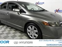 New Price! Honda Civic LX CLEAN CARFAX, LOCAL TRADE!!,