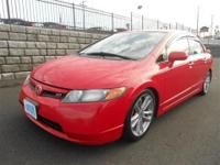 4DR. 6 Speed Manual. DOHC VTEC Engine. Fun and quick To