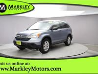 Our Carfax One Owner 2008 Honda CR-V EX shown in Blue