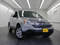 New Price! AWD. 2008 Honda CR-V EX CARFAX One-Owner.